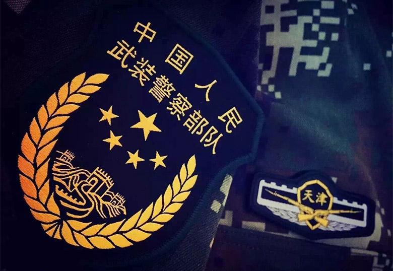 武警各部队统一换新标志