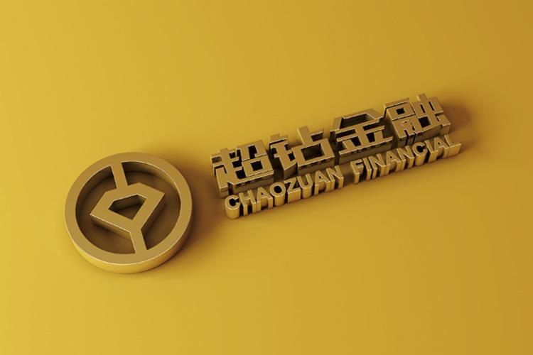 超钻金融标志设计,超钻金融VI设计_全力设计