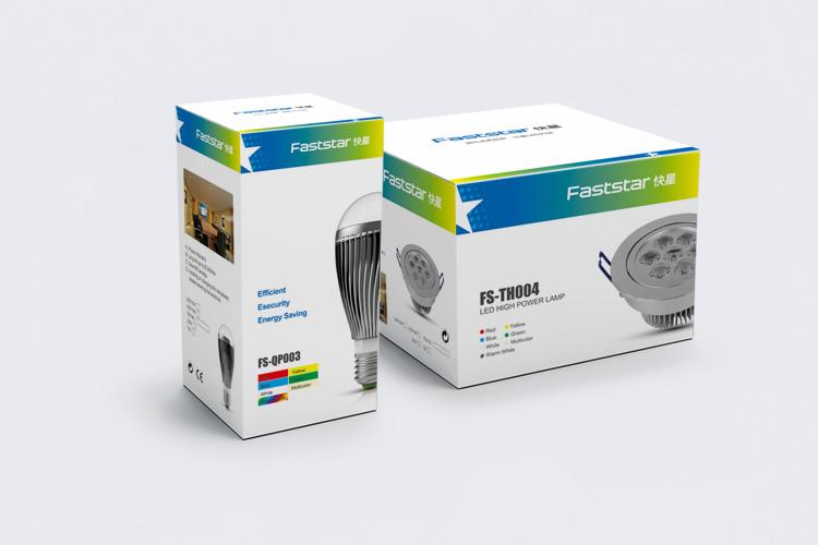 快星LED品牌形象重塑,快星LEDVI设计_全力设计