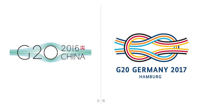 2017年德国汉堡g20峰会logo发布