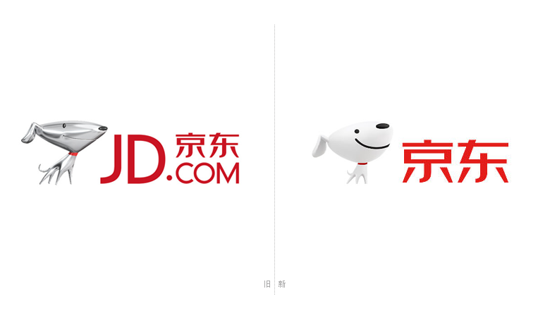 """JOY""是京东早在2013年3月30日和新LOGO一起启用的吉祥物(东道设计公司设计),为什么京东会选择一只金属狗作为自己的吉祥物?这里边有一个小故事。 据说刘强东有次去同学家做客,看到客厅里一个欧洲进口的吊顶灯,整个吊灯是金属质感,有独特的金属光泽,站在某个角度看特别像一只金属的狗。他将小狗吉祥物的想法分享给京东高层,而小狗又有着忠诚、友善的美好寓意,与电商希望传达的理念一致,于是,以狗为原型的设计想法,在京东内部一致通过。"
