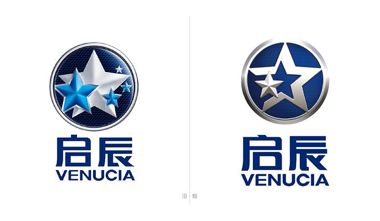 启辰标志,启辰logo,启辰品牌设计,汽车品牌标志,汽车品牌设计,深圳vi
