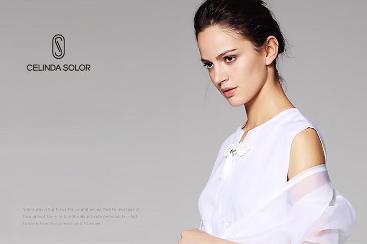 Celinda Solor服装标志设计,LOGO设计,品牌形象设计_全力设计