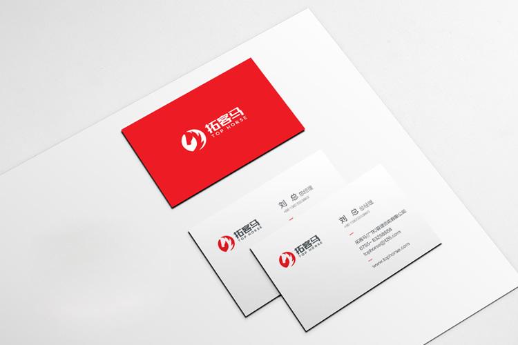 拓客马品牌标志设计,LOGO设计,商标设计_全力设计