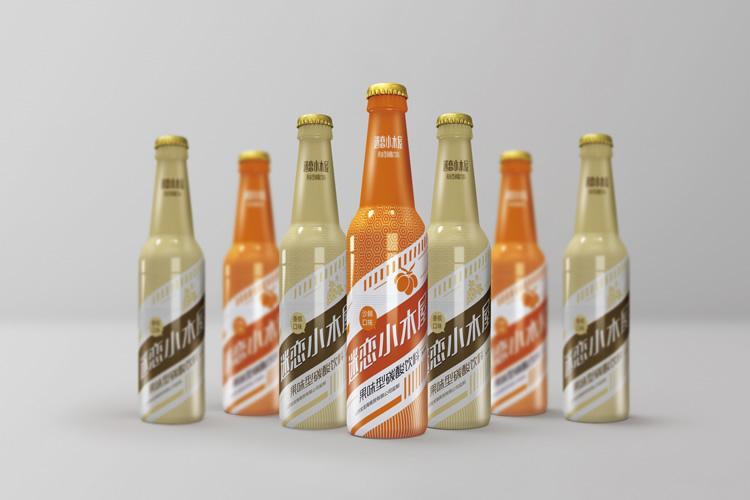 迷恋小木屋品牌包装设计,品牌形象设计,瓶贴设计_全力设计