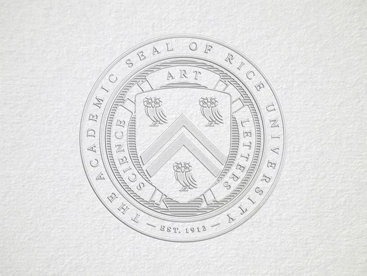 美国莱斯大学(rice university)升级logo!