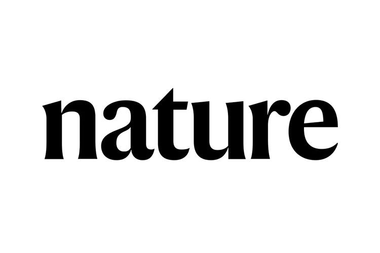 《自然》�s�I更�Q新LOGO新字�w