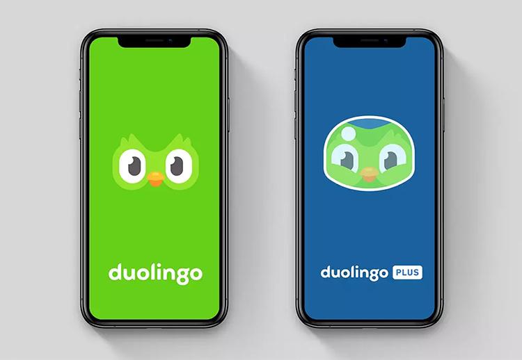 在��Z言�W�平�_ 多���(Duolingo)�⒂眯�LOGO